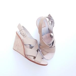 Dolce Vita strappy open toe sandals platforms 7.5